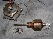 ICポンプのモーターのベアリング