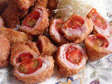トマトの肉巻きフライ パート2