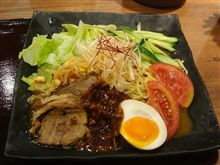 ジャージャーカレー冷麺(麺屋ここいち)