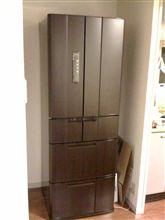 冷蔵庫買いました