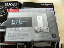 ETC車載器、設置しました。 (#^.^#)