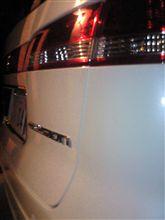深夜の洗車www