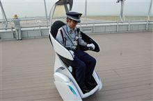 近未来の乗り物?