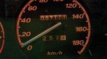 燃費記録を更新しました!