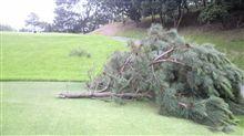 雨&強風の中でのゴルフ