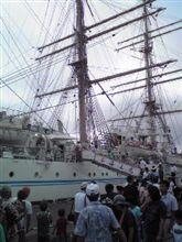 海王丸乗船