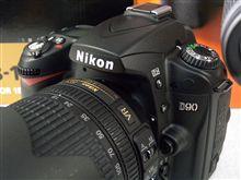 Nikon D90 AF-S DX 18-105G VR レンズキット (ニコン 一眼レフ)