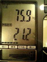 続・70kgへの道 残り2日