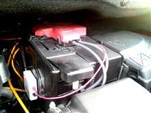 C4ピカソ 停車中(エコノミーモード中)の電圧変化??