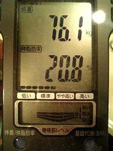 続・70kgへの道 残り1日....ぴ~んち