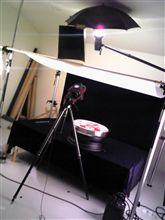 スタジオで撮影