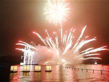 芦ノ湖夏祭りウィーク 花火大会
