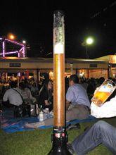 2009年7月31日札幌大通納涼ビアガーデン