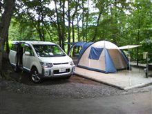 初キャンプ(^-^)/