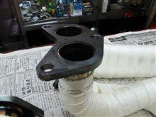 BP(L)-5ターボ用エキゾーストマニホールド交換作業完了!