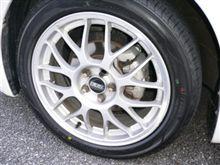 タイヤが新しくなりました
