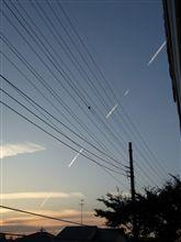 ◎今月の一葉・・・空のモールス信号