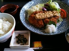 納豆かつ定食