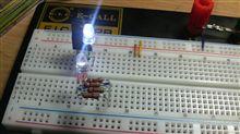 LED実験中