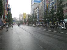 雨の日のアキバ