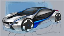 BMW Vision EfficientDynamics?(;´д`)