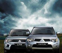 Award winning Mitsubishi Triton pick up gets facelifted ・・・・