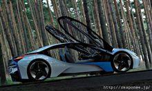 BMWのグリーンスポーツカー