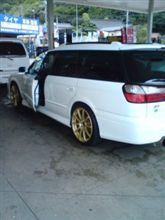 プラチナポリマー洗車