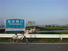 渡良瀬川にて