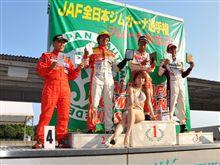 全日本ジムカーナ第7戦、森田名人 4位入賞!