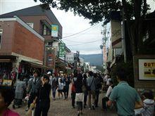軽井沢に来ました
