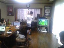 今日は自宅でゴルフ(^_^)v