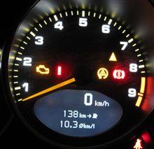 松本往復の燃費(997GT3)