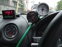 2次排気圧力を計る