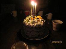 同居してるおじさんの誕生日