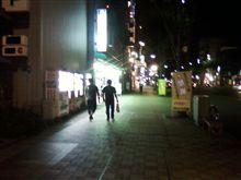 連休最終日ですが、柳ケ瀬でのんでました。