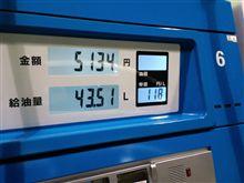 レギュラー118円