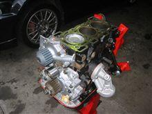 エンジンオーバーホール腰下完成カプチーノ(EA11R)
