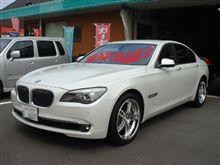 BMW750i(F01)×レオンハルト