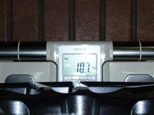 スペックCのホイール重量