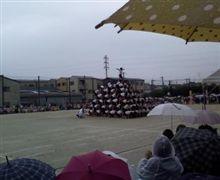 雨の運動会!\(◎o◎)/!