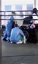 快晴♪で、洗車♪