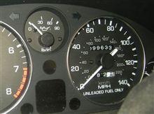 もうすぐ 10 万マイル