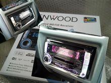 KENWOOD(ケンウッド)製『DPX-50MD』装着