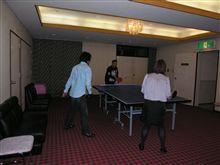 アルファ159ジャパンミーティングでトークショー&ピンポン