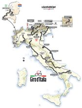 『ジロ・デ・イタリア 2010 コース発表』