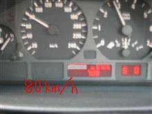 一般道も時速80キロまでOK?(;´д`)