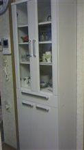 食器棚が届きました