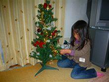 クリスマスツリー出動!!