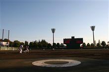 シーズン最終試合 in 野球場